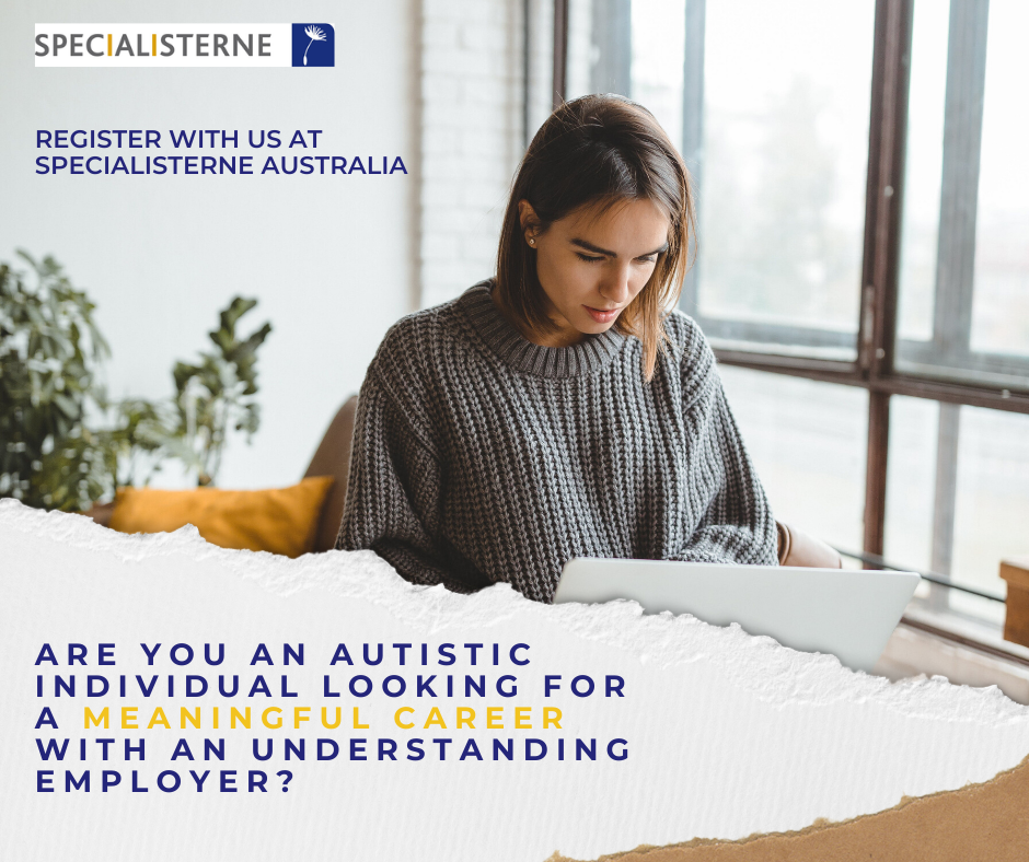 Are you an autistic individual looking for a meaningful career with an understanding employer?
